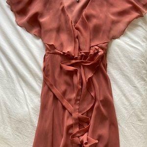 ASOS Cape back midi dress